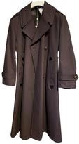 Maison Margiela Purple Cotton Trench Coat for Women