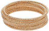 Apt. 9 Textured Bangle Bracelet Set