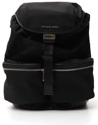 MICHAEL Michael Kors Logo Buckled Backpack