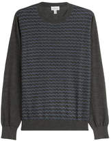 Brioni Printed Turtleneck Pullover with Cashmere and Silk