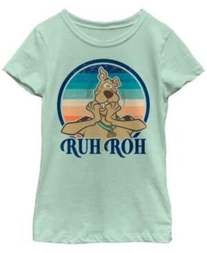 Fifth Sun Scooby Doo Big Girl's Ruh Roh Scooby Short Sleeve T-Shirt