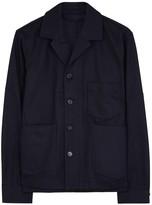 Acne Studios Media Navy Cotton Twill Jacket