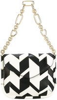 Salvatore Ferragamo flap shoulder bag - women - Calf Leather - One Size