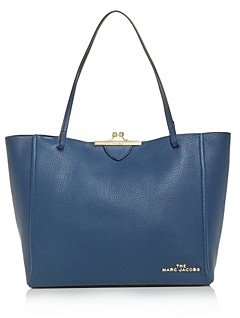Marc Jacobs The Kisslock Leather Tote
