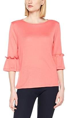 Esprit Women's 127ee1k023 Long Sleeve Top, (Pink 670), Small