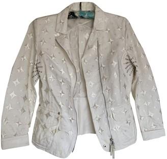 Gianfranco Ferre White Jacket for Women