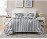 Thumbnail for your product : Seventh Studio Dover Stripe 3-Piece King Poly/Cotton Quilt Set