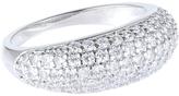 Accessorize Platinum Super Sparkle Ring
