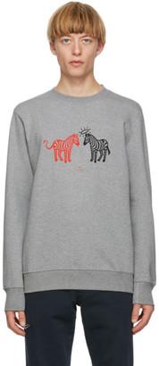 Paul Smith Grey Zebras Sweatshirt