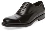 Salvatore Ferragamo Leather Cap-Toe Loafer
