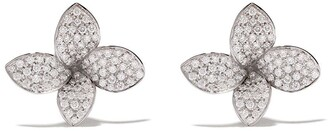 Pasquale Bruni 18kt white gold diamond Petit Garden earrings