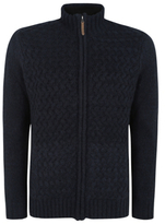 George Fleece Lined Knitted Jacket