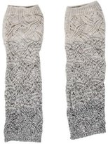 Missoni Knit Fingerless Gloves
