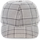 A.P.C. checked baseball cap - men - Cotton/Virgin Wool - S