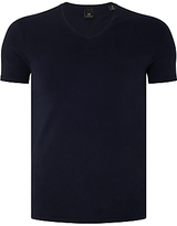 Scotch & Soda Cotton Stretch V-neck T-shirt