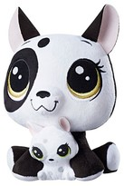 Littlest Pet Shop Bullena Doghouser and Scamper Doghouser Plush Pairs