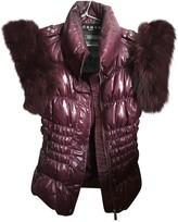 John Richmond Purple Coat for Women