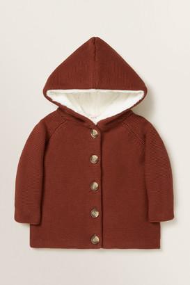 Seed Heritage Hooded Cardigan