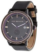 Ike Behar The Carbon Fiber Custom Stitch Watch, 43mm