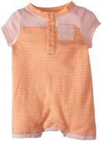 Patagonia Cozy Cotton Shortie (Baby) - Peach Sherbet-6 Months