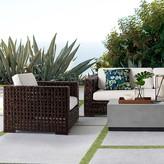 Williams-Sonoma Williams Sonoma Open Weave Outdoor Sofa