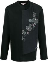 Alexander McQueen floral pattern long-sleeved T-shirt