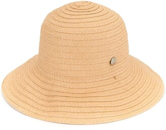 Fendi Pre Owned Straw Hat