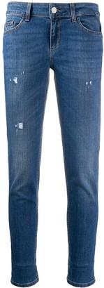 Liu Jo Skinny-Fit Cropped Jeans