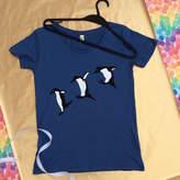 Sarah J Miller Rockhopper Penguin Womens T Shirt