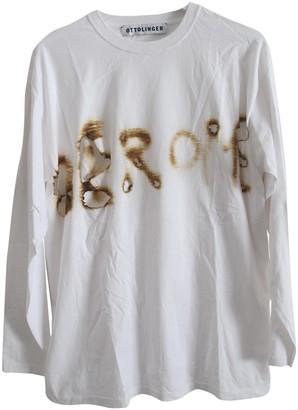Ottolinger White Cotton Top for Women
