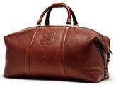 Ghurka Men's 'Cavalier Iii' Leather Duffel Bag - Brown