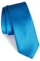 The Tie Bar Men's Solid Silk Skinny Tie