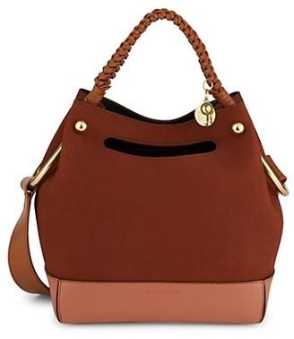 See by Chloe Mini Maddy Leather Hobo Bag