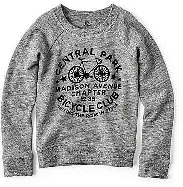 Joe Fresh Joe FreshTM Graphic Sweatshirt - Girls 4-14