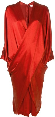 Poiret Infinity draped dress