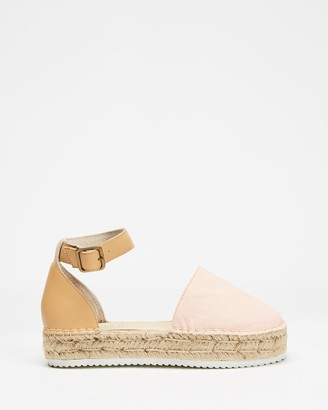 Walnut Melbourne Moeta Canvas Espadrilles