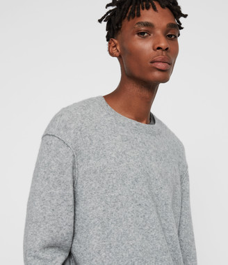 AllSaints Austell Crew Cashmere Blend Sweater