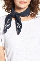 Rag & Bone Women's Embroidered Dagger Bandana