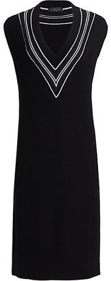 Rag & Bone Dianna V-Neck Knit Dress