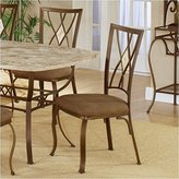 Hillsdale Furniture Hillsdale Brookside Diamond Fossil Back Dining Side Chair (Set Of 2)