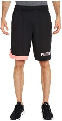 Puma Collective Color-Block Shorts Black) Men's Shorts