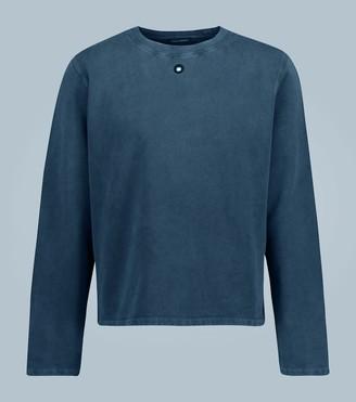 Craig Green Embroidered hole sweatshirt