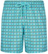 Vilebrequin Mahina Zip-Away Patterned Swim Shorts