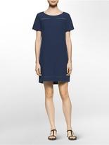 Calvin Klein Denim Boho Dress