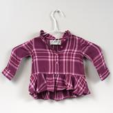 Cherokee Baby Plaid shirt
