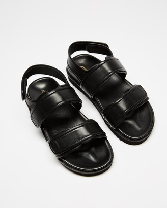 Atmos & Here Marcia Leather Sandals