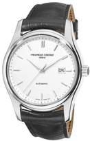 Frederique Constant Classics Index Automatic Watch - 303S6B6 Dial Black Strap Watch