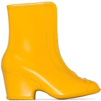 Gucci Kitt zip-front wellie boots