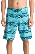 Quiksilver Men's Stripe Board Shorts