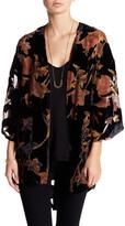 Daniel Rainn Velvet Burnout Kimono (Petite)